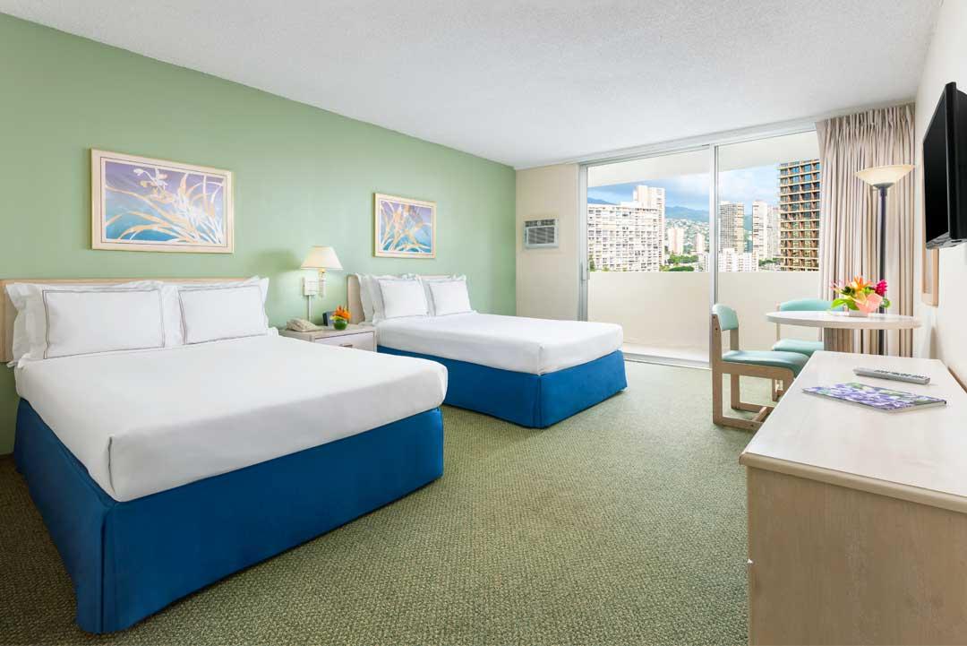 침대 2개 객실